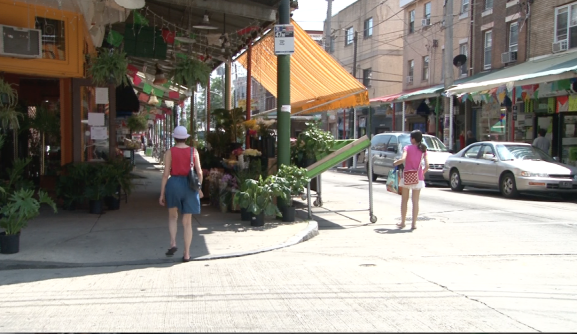 Ninth street is also a hub for Latino businesses in South Philadelphia.