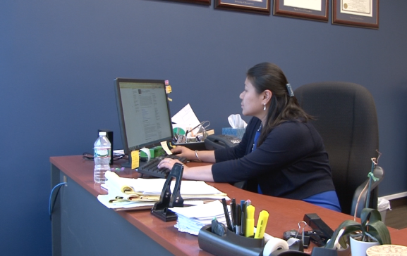 Elaine Cheung specializes in immigration law and works with many clients in South Philadelphia.