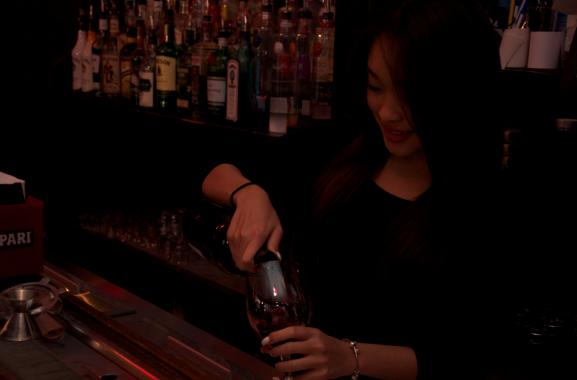La Fusion has a new bar with a luxe atmosphere.