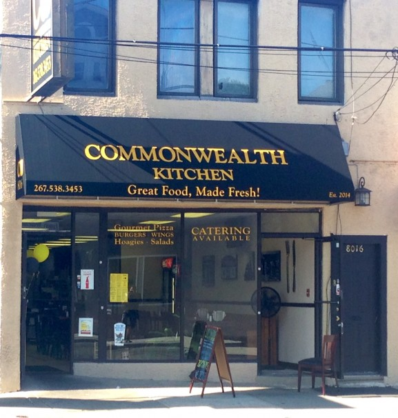 Mayfair and Holmesburg residents are enjoying Commonwealth Kitchen's fresh food that's cooked to order.