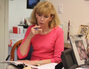 Diane Sandufer, Director of the Veterans Upward Bound program at the University of Pennsylvania.