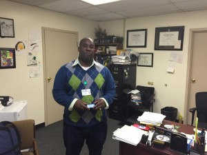 Angelou Adson is the executive director and project manager at Intercultural Family Services. He works closely with dedicated social workers, like Bill Brentson, and community members to make plans that improve community health.