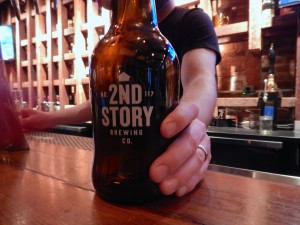 Second Story growler