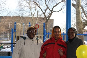 Irene Russell (left) has said Stinger Square is a place for all Philadelphians to come and have fun in a safe environment.