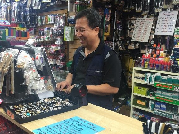 Gwang Han, owner of Lightning Beauty Supply Store