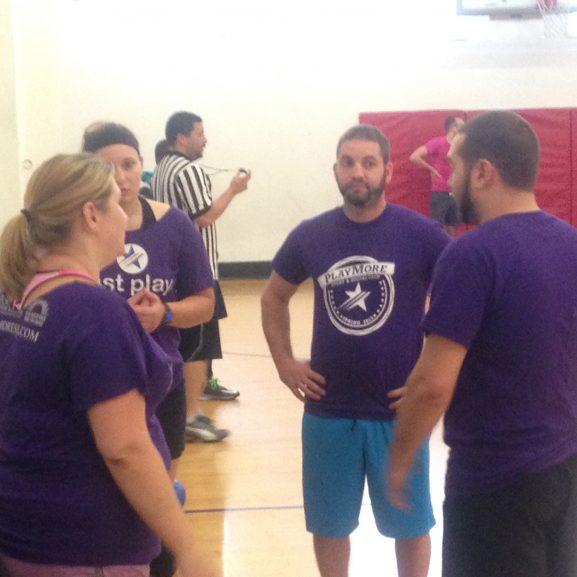 dodgeball team photoshopped
