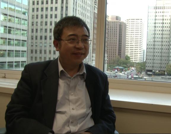 Philadelphia Tri-State Chinese American Association President Yong Peng.