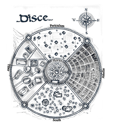 White map of disce