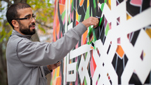 Shorts: eL Seed works his calligraffiti magic
