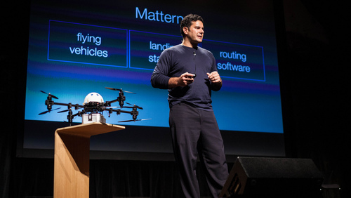 Andreas Raptopoulos: Drones for good