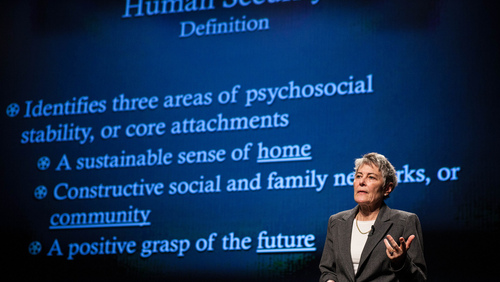 Jennifer Leaning: Keys to human security