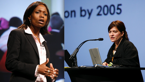 Zinhle Thabethe and Krista Dong - PopTech 2007