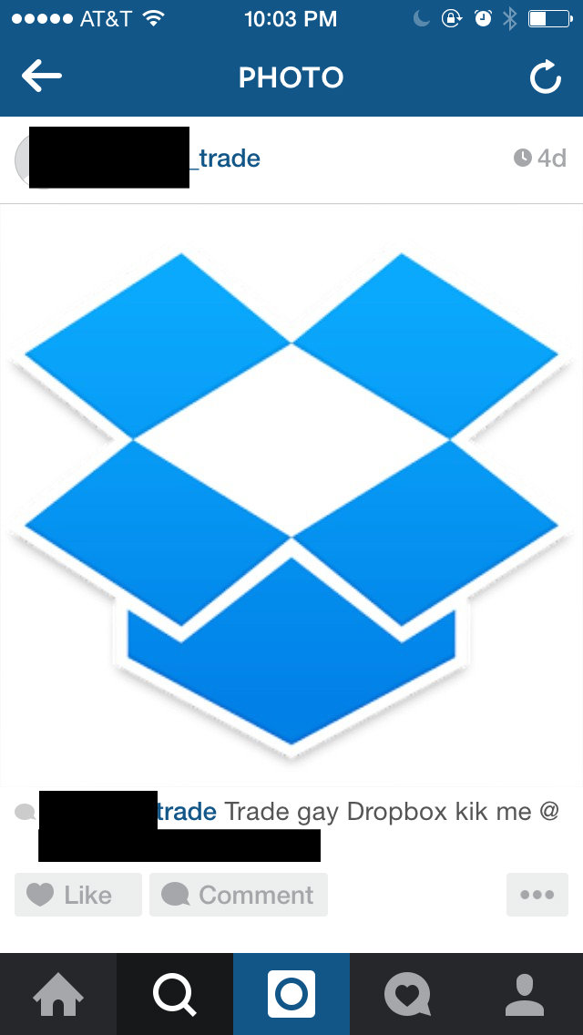 Dropbox girl links