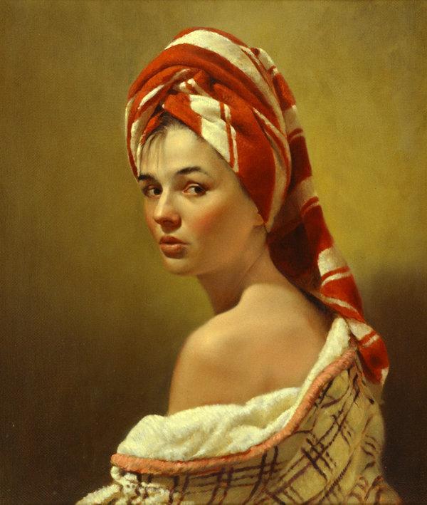 Realism Arts: Portrait Paintings By Nikolai Shuryguin