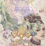 Feminine illustrations by Ratinan Thaicharoen