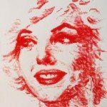 Lips + Lipstick = Amazing Painting !