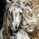 Horse Painting by Elise Genest