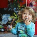 4 Years Old Painter Aelita Andre