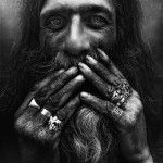 Black and White Homeless by Lee Jeffries