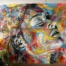 Street Painting by David Walker