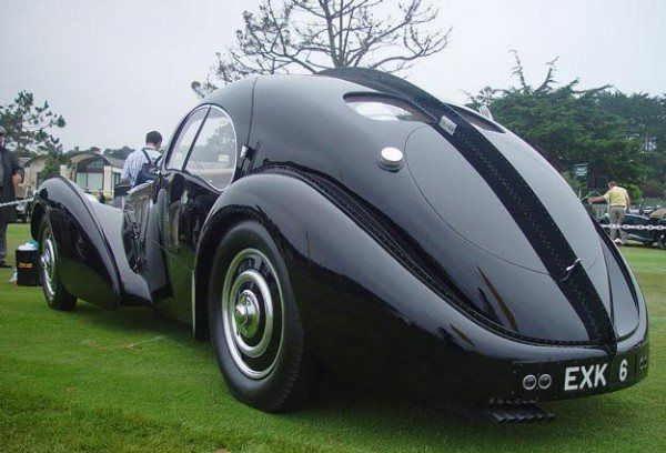 most expensive car ever sold - bugatti type 57s atlantic | pondly