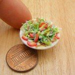 Miniature Food Sculpture by Shay Aaron
