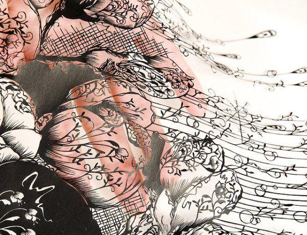 paper crafts by Hina Aoyama