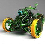 Motocicletas Extraordinarias por Mikhail Smolyanov