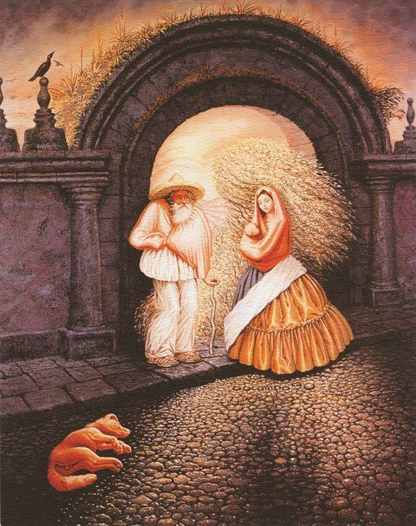 Octavio Ocampo-Mexican surrealist painter