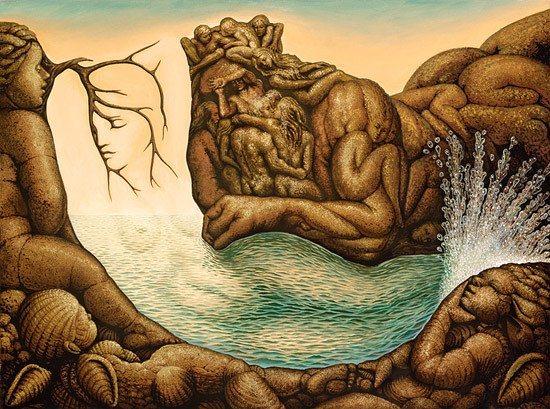 Octavio Ocampo-Mexican surrealist painter