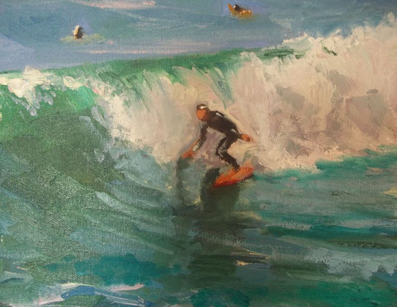 surfer-painting-kathleen-robison
