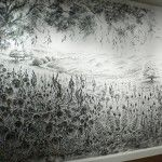Extraordinary Charcoal Dust Paintings by Judith Braun