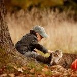 Babies and Furry Critters – An Irresistible Combination by Elena Karneeva