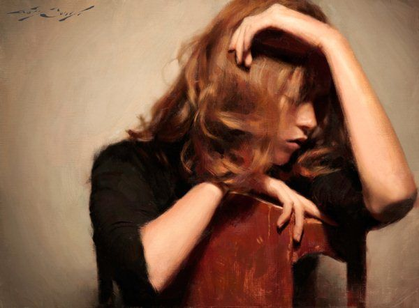 Realistic Figurative Paintings by Casey Baugh