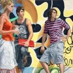 City Youth - Paintings by Michele Del Campo