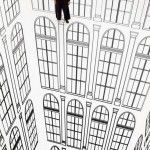 Dizzying Heights - Optical Illusions by Regina Silveira