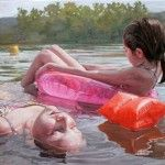One Hot Aternoon in July – Paintings by Laura Sanders