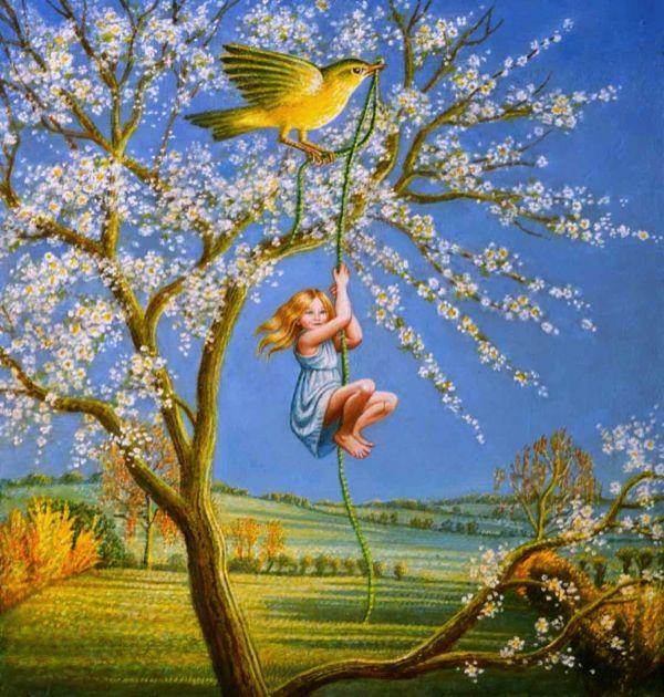 Bird-of-Spring--8x12---sold