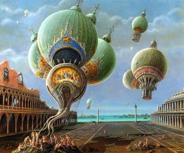 Flight-of-the-Churches,-Venice