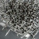 Type City – Sculpture from Scrap by Hong Seon Jang