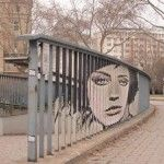 Zebra + Art + Railings = Impressive Street Art by Zebrating