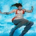 Underwater Paintigs by Sarah Harvey