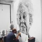 Fingerprint Paintings by Chuck Close