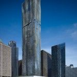 Aqua Building in Chicago