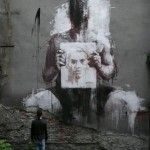 Blurred – Street Art by Borondo
