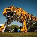 Catch A Tiger by Its Toe – Sculptures by Gábor Miklós Szőke
