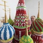 Moscow Cathedrals – Origami by Sergei Tarasov