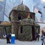 Willow Wand Wonderland – Installation by Patrick Dougherty