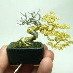 Bonsai Wire Trees – Sculptures by Ken To