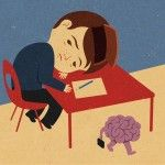Brain On Vacation – Illustrations by John Holcroft